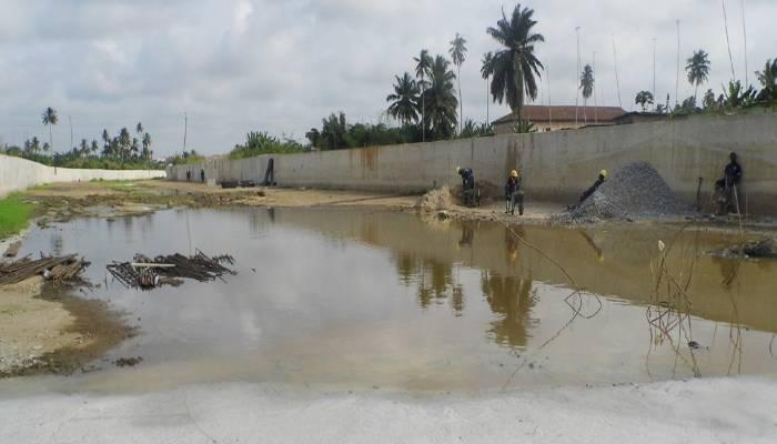 Agona Swedru Akora River Drainage