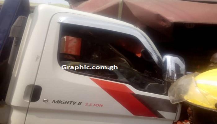 Accident At Agona Swedru